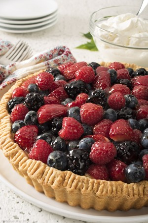 Tart food photo (whole)