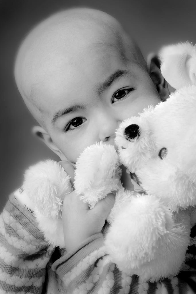 Black & White Portrait of Gabby