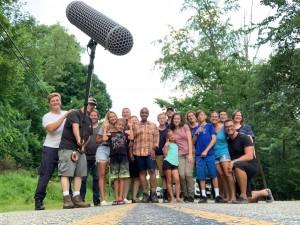 Sound mixing crew