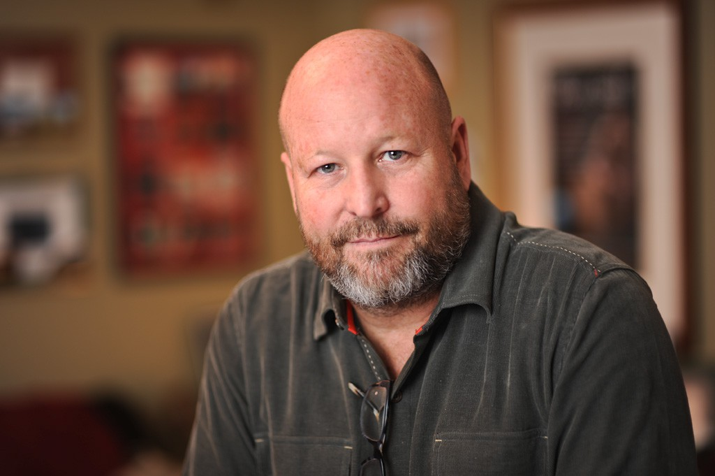 Portrait of Michael Wertz, of Apple Box Studios