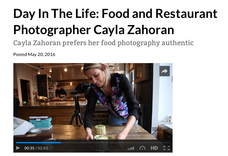 Pittsburgh Food Photographer makes it big, in the Big Apple!