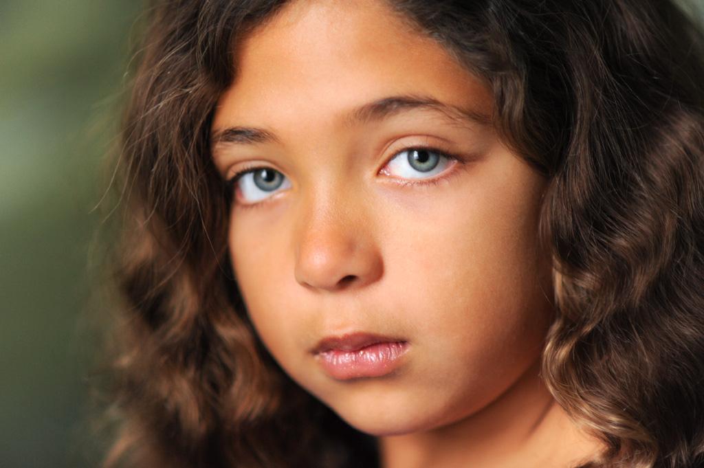 Pittsburgh Headshots – Portrait of Nine-Year-Old Girl