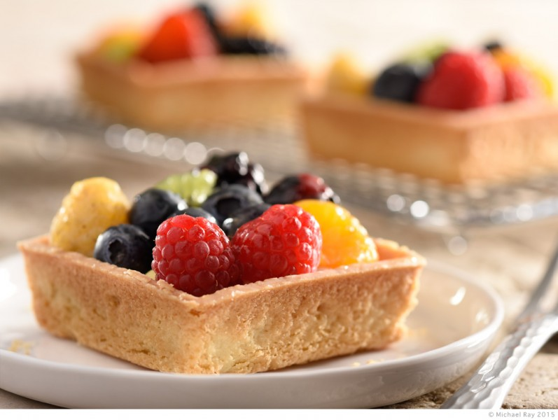 Food photography of Pittsburgh tart