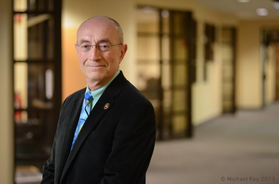 Environmental Portrait photo of professor
