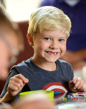 Portrait of child - smile