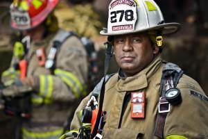 Fireman Portrait