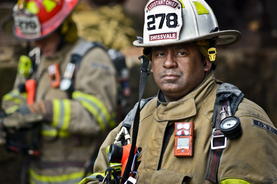 Fireman Industrial photography
