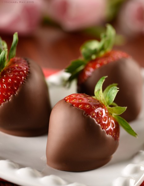 Food photo of Chocolate Dipped Strawberries