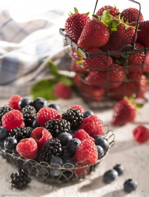food photo of berries