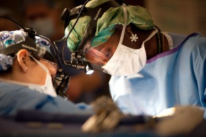 Medical Photography Dr operating